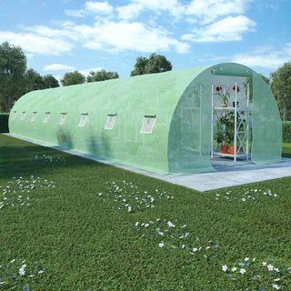 Invernadero con cimientos de acero 36 m² 1200x300x