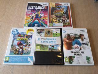 Juegos semi nuevos para Wii