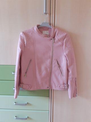 xaqueta rosa talla 12-13 Zara