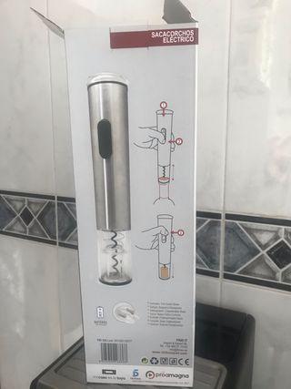 Sacacorchos eléctrico