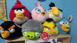 Colección peluches Angry Birds