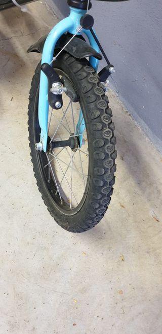 Bicicleta 14 pulgadas decatlón pirabike