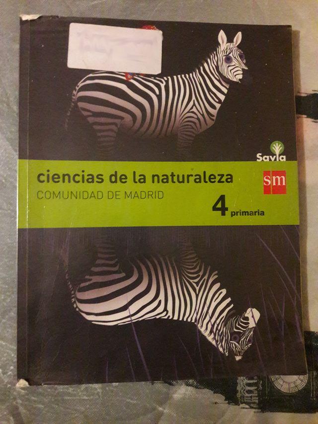 Ciencia de la naturaleza 4º Primaria