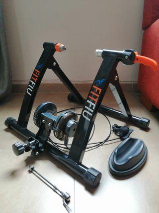 Fitfiu - ROB Rodillo entreno para bicicleta,