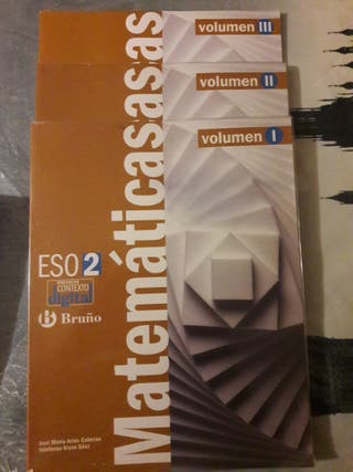 Libro Matemáticas 2º ESO