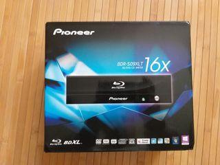 Lector Grabador Blu ray Pioneer BDR-S09XLT