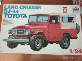 maqueta Toyota land cruiser