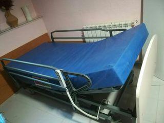 Cama de hospital articulada