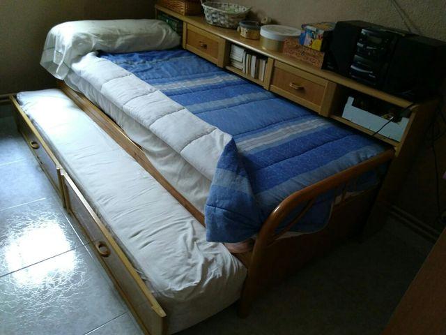 Dormitorio 2 camas 90cm