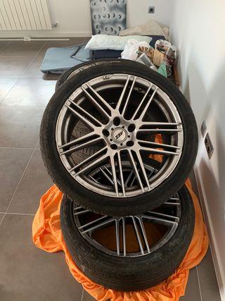 """4 llantas 21"""" AEZ Audi Bmw Porsche"""