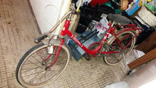 Bicicleta paseo antigua