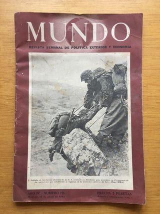 Revista MUNDO, 1943