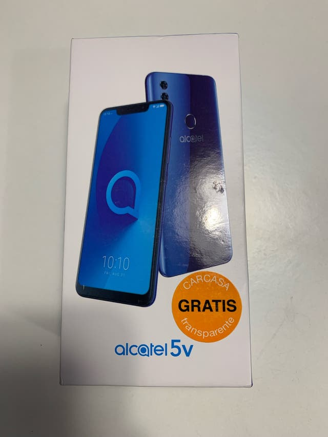 Alcatel 5v Nuevo Precintado + Carcasa