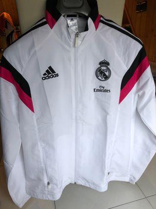 Chándal Real Madrid oficial. Parte de arriba
