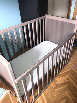 Cuna Ikea Sundvik más colchón Vyssa