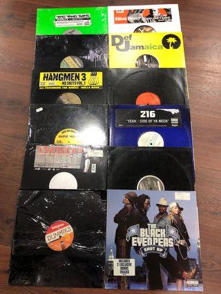 Lote vinilos hip hop