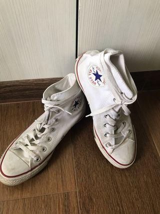 Converse blanca