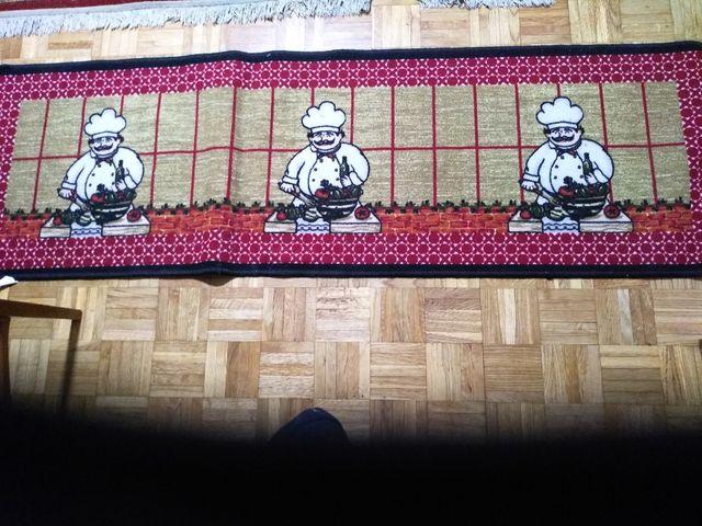 alfombra para la cocina seminueva