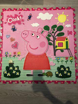 Puzzle alfombra Pepa Pig