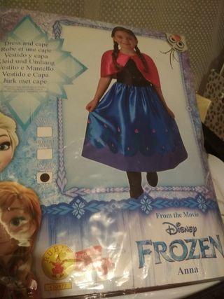 disfraz Ana de frozen