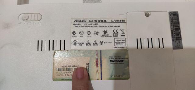 Portátil Asus EEE 1005 HA
