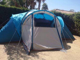 Tienda de campaña Quechua 6 personas 3 habitacione