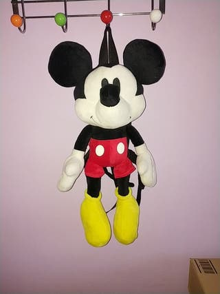 Peluche Mochila Mickey Mouse