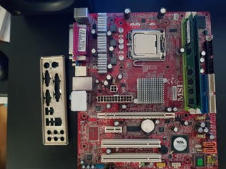 PLACA BASE MSI P4M890M-L LGA 775 + CPU+ RAM