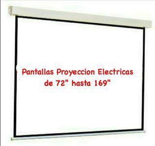 Pantallas Eléctricas de Proyección