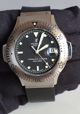Reloj Hublot Turnlock S-II Diver 2000m