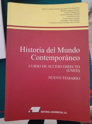 libros acceso universidad mayores de 25 años UNED