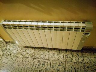 Radiador de calor azul Acesol Elite Modelo Chronos