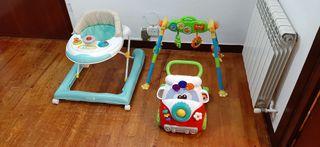 Cosas y juguetes de bebé varias