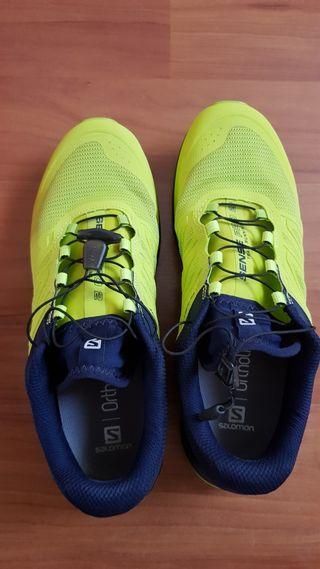 Vendo Zapatillas Trail Running Salomon Sense Pro 2
