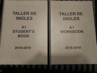 Dos libros de inglés A1