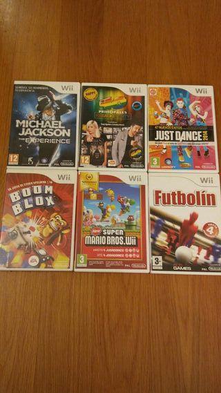 Wii Mini + 6 juegos