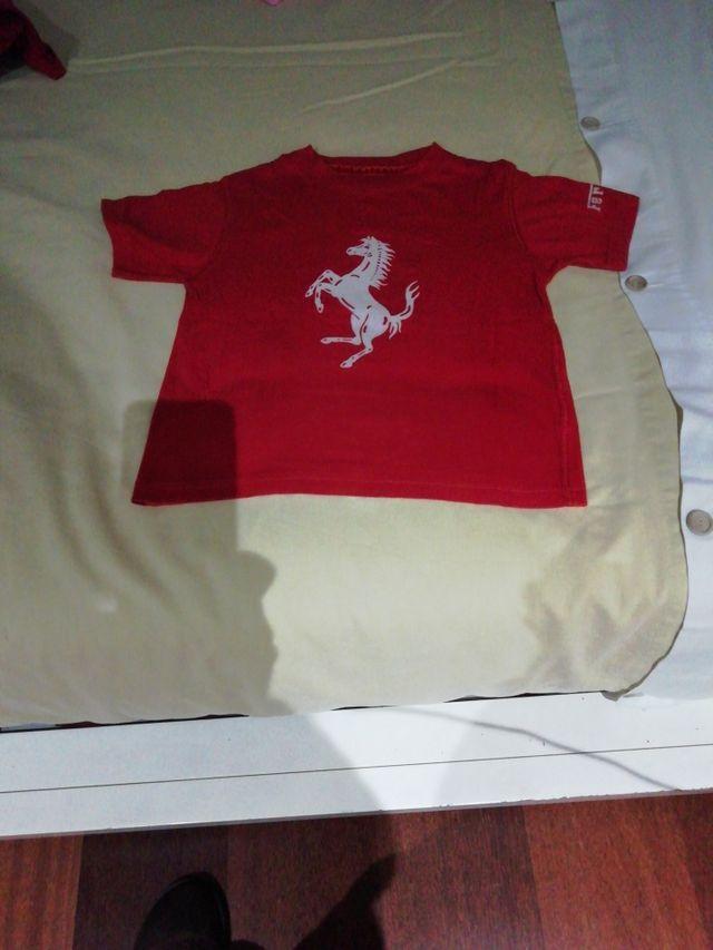 Camiseta niño Ferrari