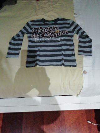 Camisetas niño manga larga.
