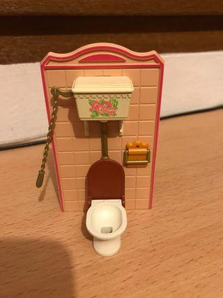 Playmobil retrete baño casa victoriana