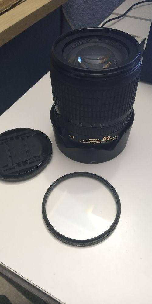 Objetivo Nikon 18-105mm
