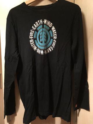 Camiseta manga larga Element negra