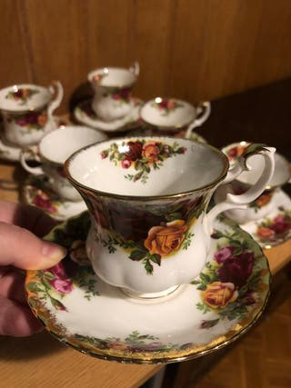 Juego cafe Royal Albert Old Country Roses