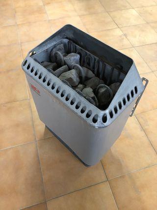 Estufa calentador Sauna Marca Helo