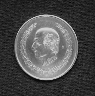 Moneda plata Mexico