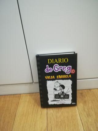 libro Diario de Greg 10