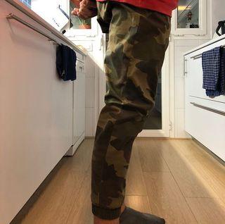 Pantalones Bershka militares