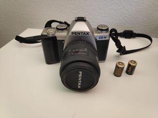 Camára Fotos Pentax ZX-M Carrete