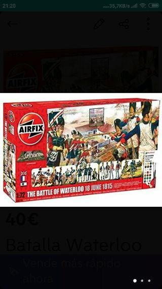 Batalla Waterloo Maqueta