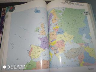 """Atlas """"el gran libro del mundo"""""""