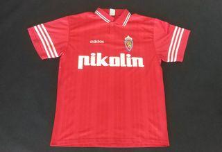 camiseta real Zaragoza visitante Adidas 1996 away